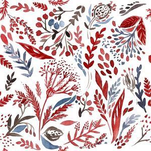 Botanical pattern 3 by Irina Trzaskos Studio