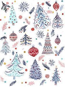 Christmas Trees by Irina Trzaskos Studio