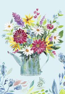 Garden Flag 4 by Irina Trzaskos Studio