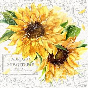 Summertime Sunflowers I by Irina Trzaskos Studios