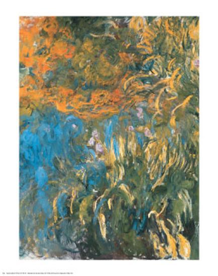 Iris, 1914-1917-Claude Monet-Art Print