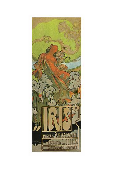 Iris, An Opera By Mascagni-Adolfo Hohenstein-Art Print