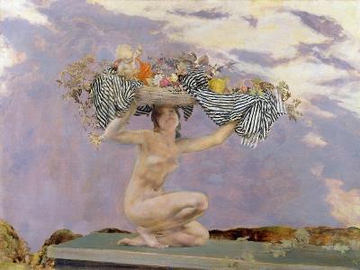 Iris, c.1915-Charles Sims-Giclee Print