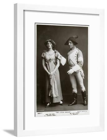 Iris Hoey and Jack Cannot, British Actors, C1908--Framed Giclee Print