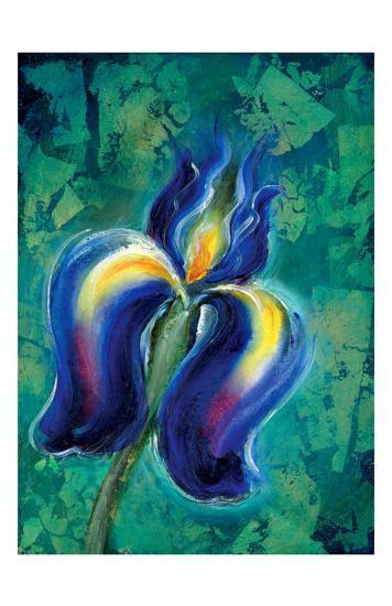 Iris II-Marcella Rose-Giclee Print