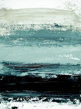 Abstract Minimalist Landscape 4 by Iris Lehnhardt