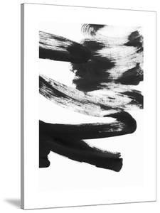 Black and White Strokes 5 by Iris Lehnhardt