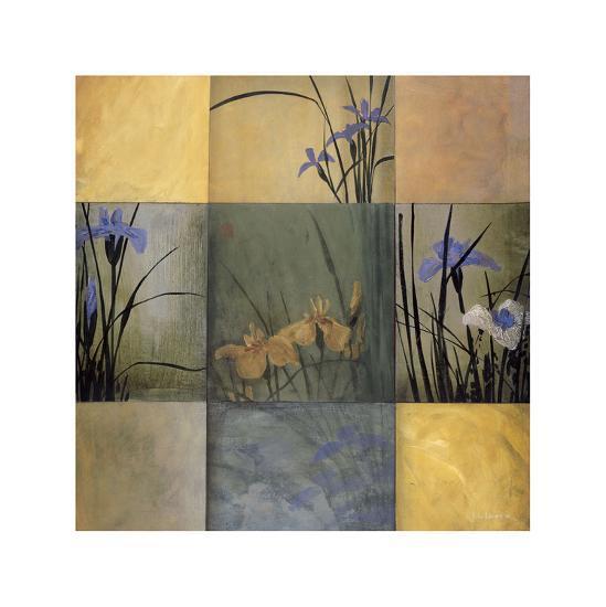 Iris Nine Patch-Don Li-Leger-Giclee Print