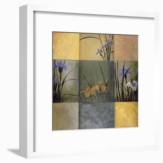 Iris Nine Patch-Don Li-Leger-Framed Giclee Print