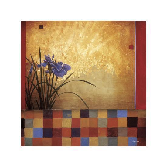 Iris Quilt-Don Li-Leger-Giclee Print