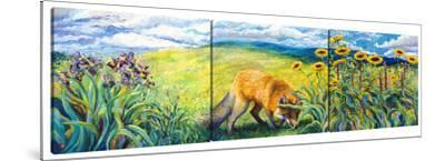 Foxy (Triptych) by Iris Scott