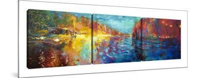 Kolkata (Triptych) by Iris Scott