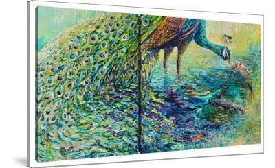 Peacock (Diptych) by Iris Scott