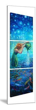Thirsty Koi (Triptych) by Iris Scott