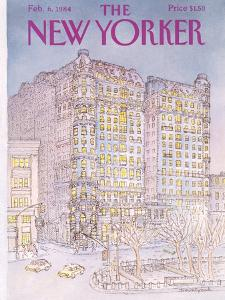 The New Yorker Cover - February 6, 1984 by Iris VanRynbach