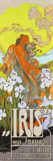Iris-Adolfo Hohenstein-Premium Giclee Print