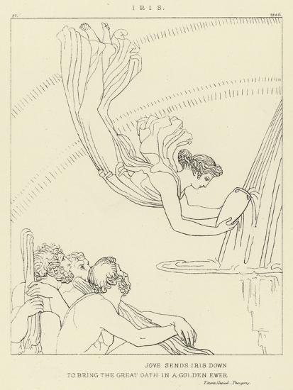 Iris-John Flaxman-Giclee Print