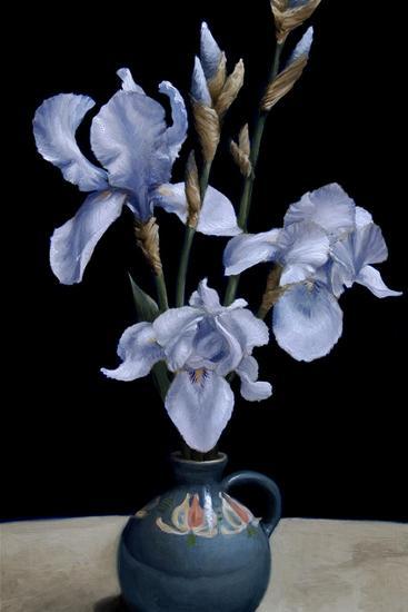 Irises, 2010-James Gillick-Giclee Print