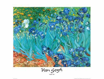 Irises, c.1889-Vincent van Gogh-Art Print