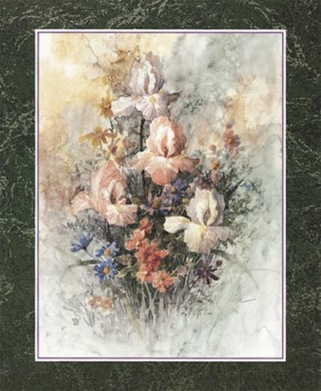 Irises-T^ C^ Chiu-Art Print