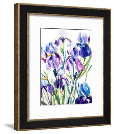Irises-Suren Nersisyan-Framed Art Print