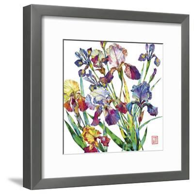 Irises-Sofia Perina-Miller-Framed Giclee Print