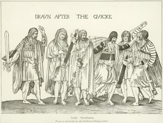 Irish Chieftains--Giclee Print