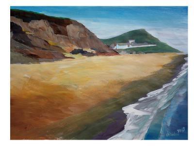 Irish Coast Wexford-M Bleichner-Art Print