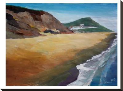 Irish Coast Wexford-M Bleichner-Stretched Canvas Print