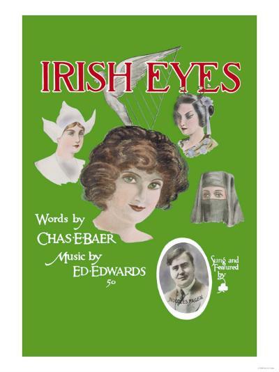 Irish Eyes--Art Print