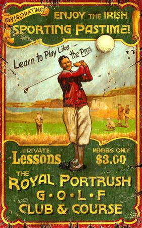 Irish Golf Vintage