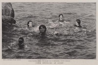 Irish Mermaids at Sport--Giclee Print