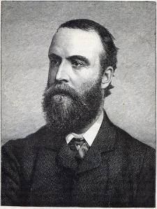 Charles Stewart Parnell, Engraving after a Photograph by William Lawrence by Irish Photographer