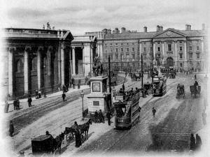 College Green, Dublin, C.1900 by Irish Photographer