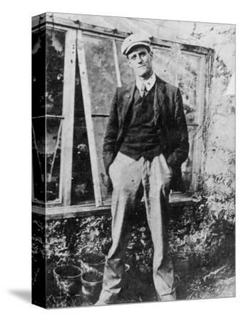 James Joyce in the Garden of His Friend Constantine Curran in Dublin, 1904