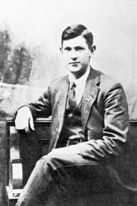 Michael Collins (1890-1922) as a Young Man by Irish Photographer