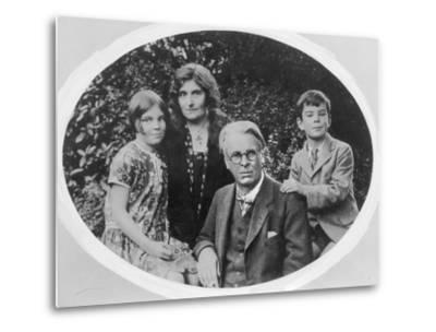 William Butler Yeats (1865-1939) with His Wife Georgie Hyde Lee and Children Anne and Michael