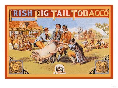 Irish Pig Tail Tobacco--Art Print
