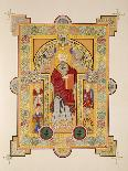 The Four Evangelists, from a Facsimile Copy of the Book of Kells, Pub. by Day and Son-Irish School-Giclee Print