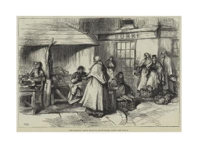 Irish Sketches, Market Women of the Old Booths, Galway--Giclee Print