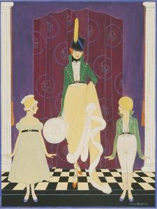 Vogue - November 1916 by Irma Campbell