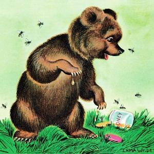 Bees for Bear - Jack & Jill by Irma Wilde