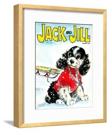 Let's Go Sledding - Jack and Jill, January 1971