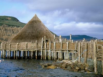 Iron Age Crannog Centre, Loch Tay, Scotland, United Kingdom-Ethel Davies-Photographic Print