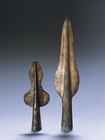 Iron Age, Spear Points--Giclee Print