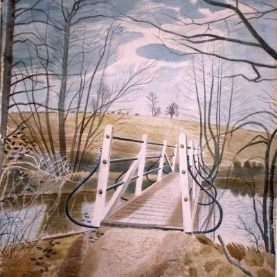 Iron Bridge at Ewenbridge, 1942-Eric Ravilious-Giclee Print