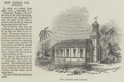 Iron Church for Jamaica--Giclee Print