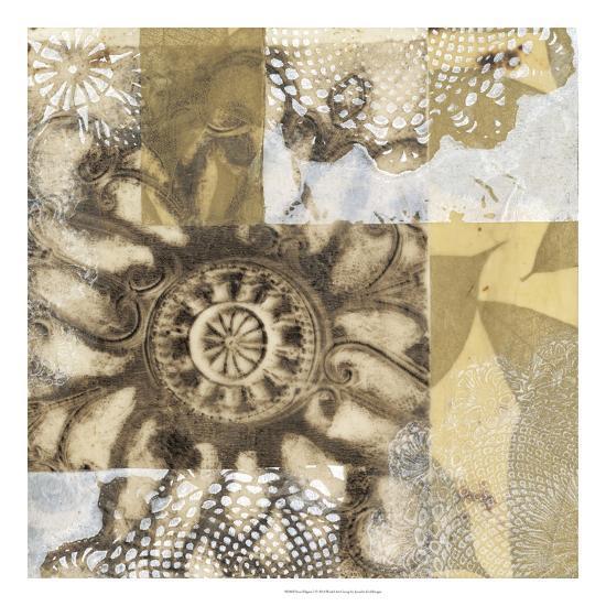 Iron Filigree I-Jennifer Goldberger-Premium Giclee Print