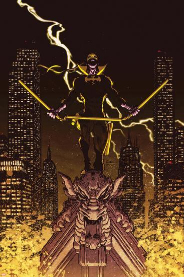 Iron Fist: The Living Weapon No. 12 Cover-Kaare Andrews-Art Print