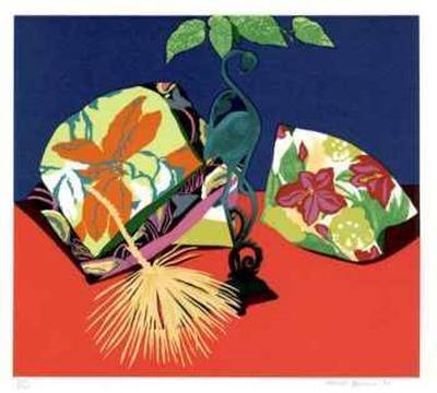 Iron Flamingo-Hunt Slonem-Collectable Print